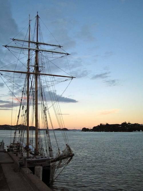 Docked at Opua