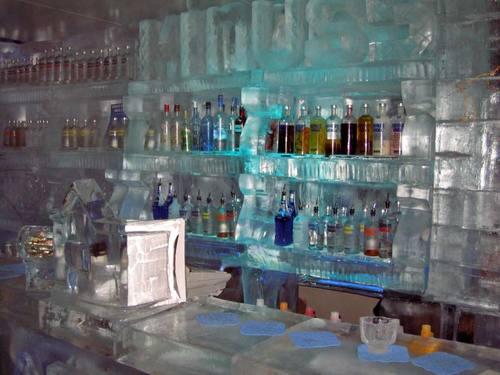 Minus 5 - the ice bar!
